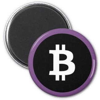 De Magneet van het Logo van Bitcoin