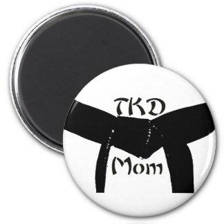 De Magneet van het Mamma van het Zwarte band TKD v