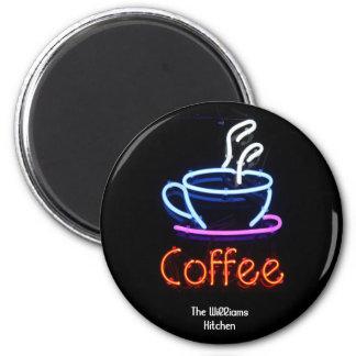 De Magneet van het Teken van de Koffie van het neo