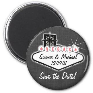 De Magneet van Las Vegas - sparen de datum - ronde