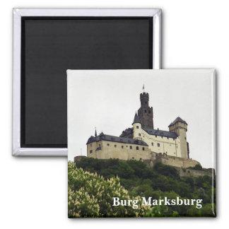 De Magneet van Marksburg van Burg