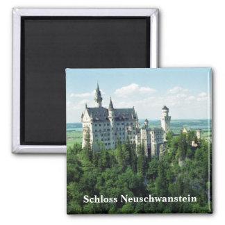 De Magneet van Neuschwanstein van Schloss