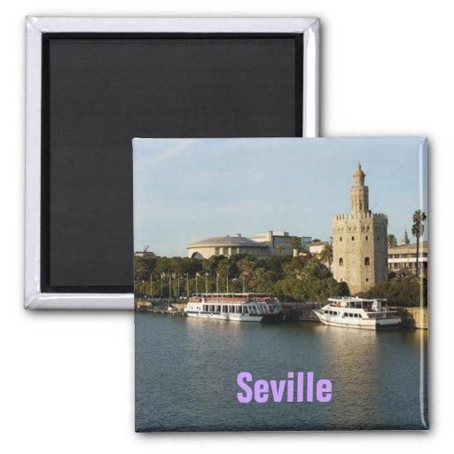De magneet van Sevilla Spanje
