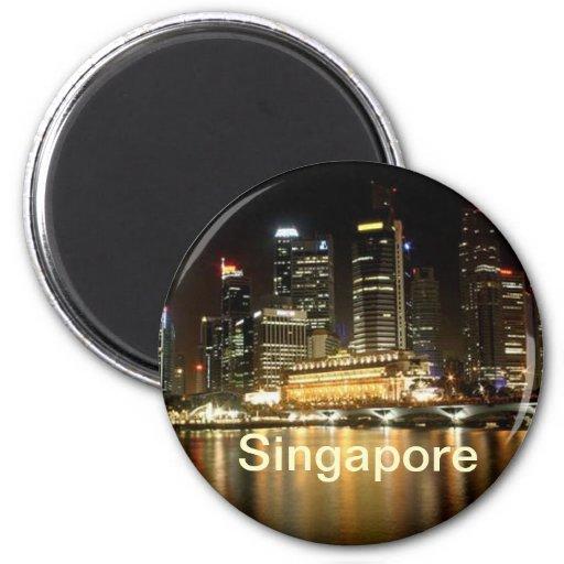 De magneet van Singapore