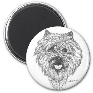 De Magneet van Terrier van de steenhoop