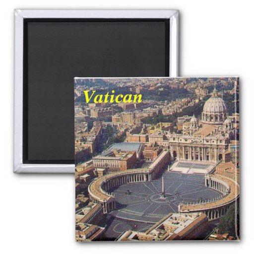 De magneet van Vatikaan