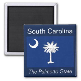 De Magneet Vlag van de Zuid- van Carolina