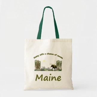 De majestueuze Amerikaanse elanden van Maine Draagtas