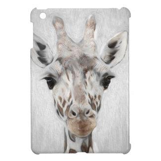De majestueuze Giraf beeldde geselecteerd met iPad Mini Cover