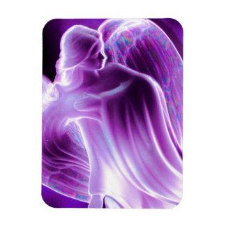 De majestueuze Paarse Magneet van de Engel