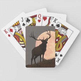 De majestueuze Stijging van de Elanden en van de Speelkaarten