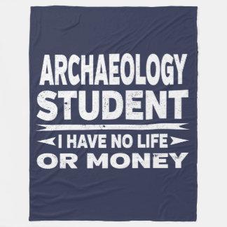 De Majoor van de Universiteit van de archeologie Fleece Deken