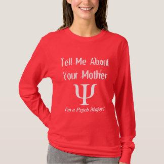 De Majoor van Psych - de T-shirt van Dames