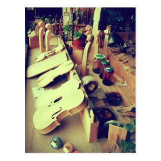 De Makers van de Viool van Mittenwald Briefkaart