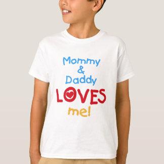 De mama en de Papa houden van me T-shirts en
