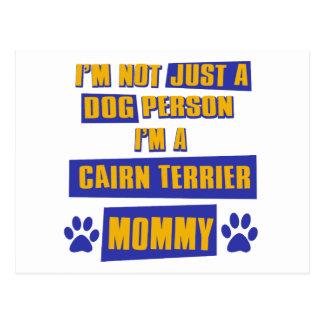De Mama van Terrier van de steenhoop Briefkaart