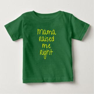 De mamma's hieven me op het Juiste Rap van Hip Hop Baby T Shirts