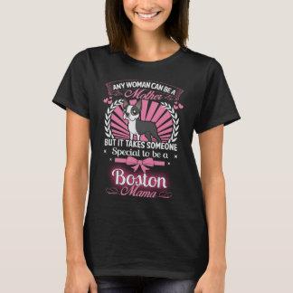 De Mamma's van Boston Terrier T Shirt