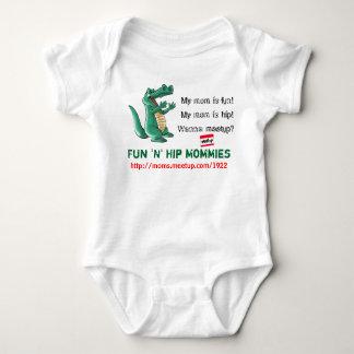 de Mamma's van de Heup van de 6-12 maandenPret n Romper