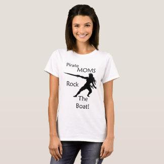 De Mamma's van de piraat schommelen de Boot T Shirt