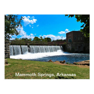 De mammoet Lentes Arkansas Briefkaart