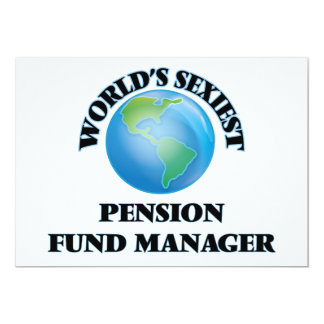 De Manager van het Fonds van het Pensioen van Uitnodigingen