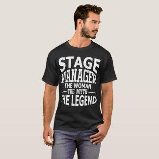 De Manager van het stadium de Vrouw de Mythe de T Shirt