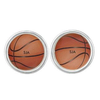 De Manchetknopen van het Ontwerp van het basketbal