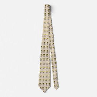 De mand van het schijfgolf helemaal over custom stropdas