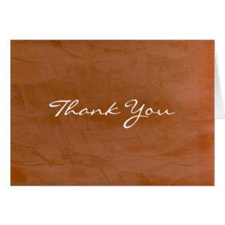 De mandarijn dankt u kaardt briefkaarten 0