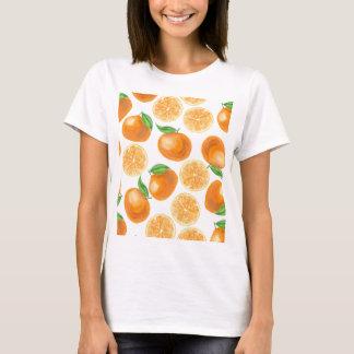 De mandarijnen van de waterverf t shirt