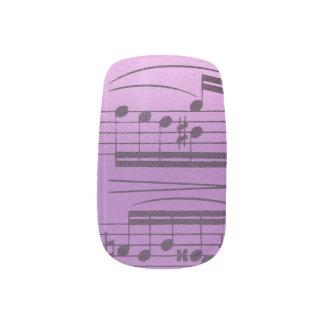 De Manicure van de muziek Minx Nail Folie