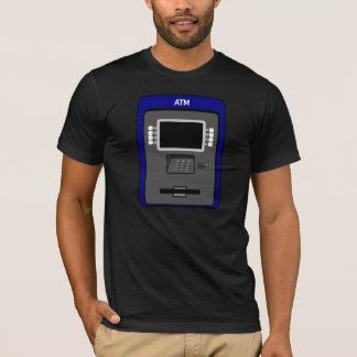 De Mannen T-shirt van de Machine van ATM