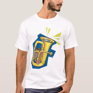 De Mannen T-shirt van het Instrument van de tuba