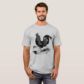 De mannen Vintage t-shirt van de Haan van het Land
