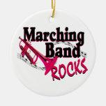 De marcherende Rotsen van de Band Kerstboom Ornamenten