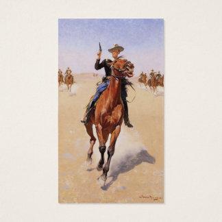 De marechaussee door Frederic Remington Visitekaartjes
