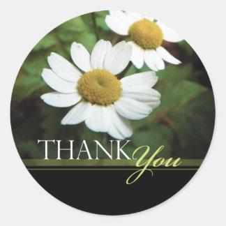 De margriet Bloemen dankt u de Verbindingen van de Ronde Sticker