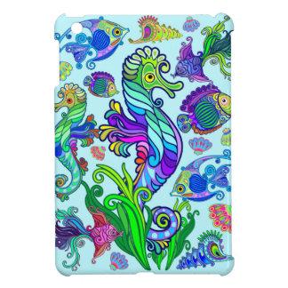 De mariene Exotische Vissen & SeaHorses van het iPad Mini Case