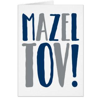 De Marine van het Blok van Tov van Mazel + Grijs Kaart
