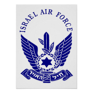 De Marine van IAF & van Israël Poster