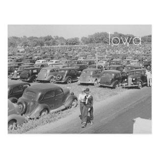 De Markt 1939 van de Staat van Iowa Briefkaart