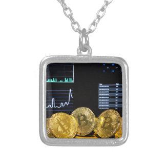 De markt van de het triokring van Bitcoin brengt Zilver Vergulden Ketting