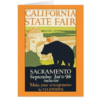 De Markt van de Staat van Californië Briefkaarten 0