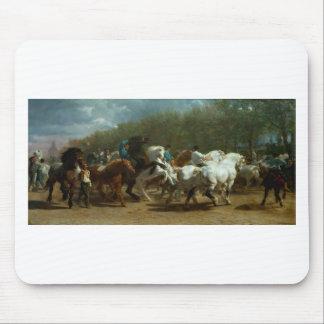 De markt van het Paard door Rosa Bonheur Muismat