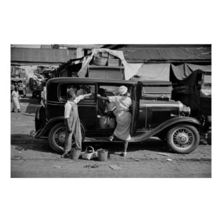 De Markt van New Orleans, jaren '30 Poster