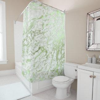 De marmeren Groene Munt van Carrara van de Steen Douchegordijn
