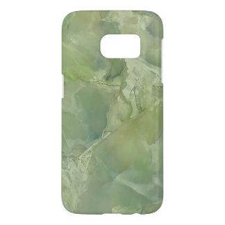De marmeren Steen van de Lei van het Mos Groene Samsung Galaxy S7 Hoesje