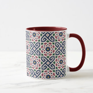 De Marokkaanse Arabische ceramische mok van de
