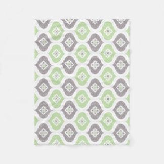De Marokkaanse geometrische deken van het